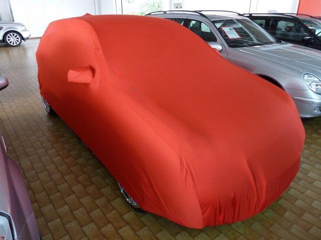 Autoabdeckung mikrokontur rot mit spiegeltaschen f r vw pol for Vw polo breite mit spiegel