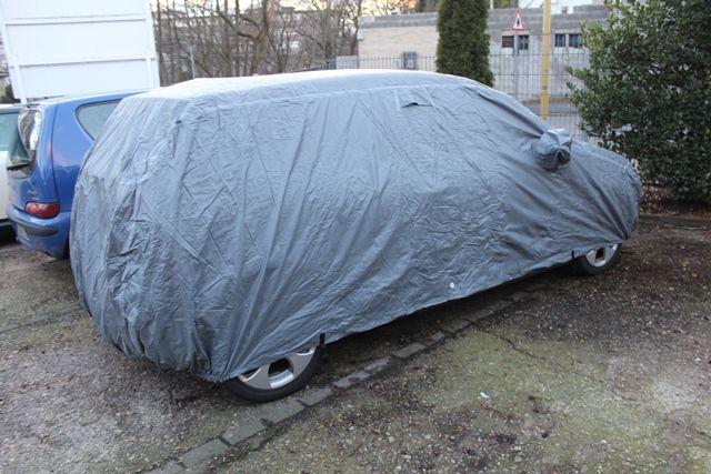 Car cover outdoor waterproof mit spiegeltasche f r vw polo for Vw polo breite mit spiegel