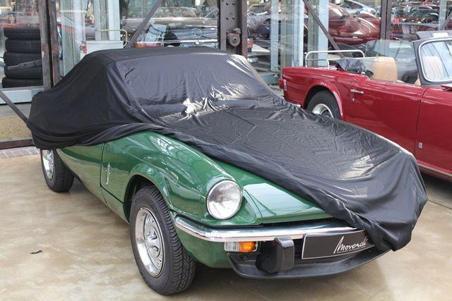 Car Cover Satin Black For Triumph Speedfire