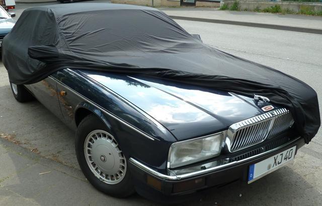 Car Cover Satin Black For Jaguar Xj 40
