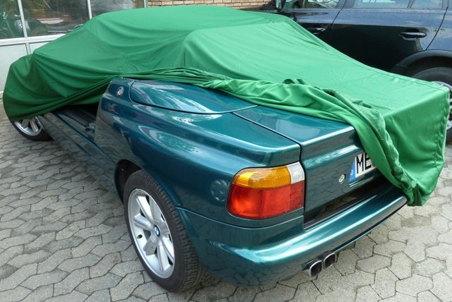 car cover satin gr n f r bmw z1. Black Bedroom Furniture Sets. Home Design Ideas
