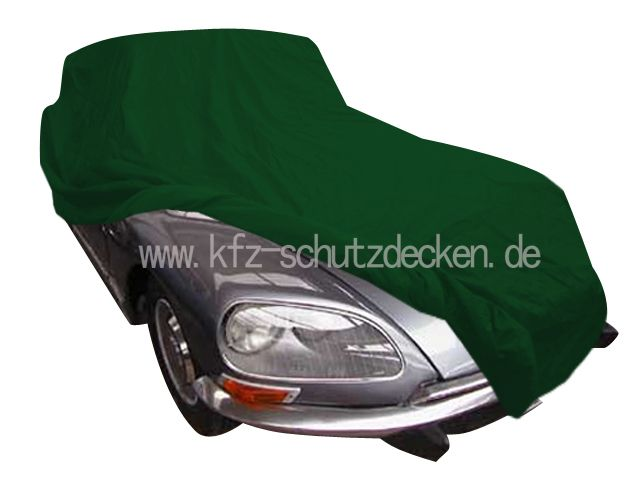 car cover satin gr n f r citroen ds. Black Bedroom Furniture Sets. Home Design Ideas
