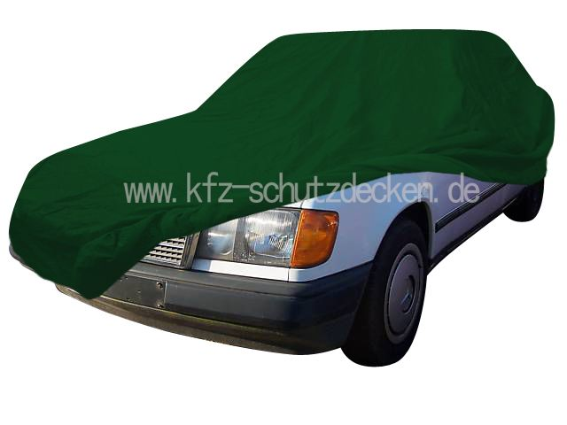 Car cover satin green for mercedes e klasse w124 for Mercedes benz e350 car cover
