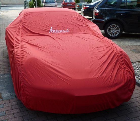 Porsche 993 Engine Lid: Car-Cover Samt Red Für