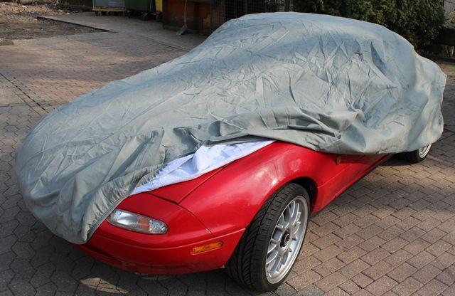 autoabdeckung vollgarage car cover universal lightwith f r mazda miata mx 5. Black Bedroom Furniture Sets. Home Design Ideas