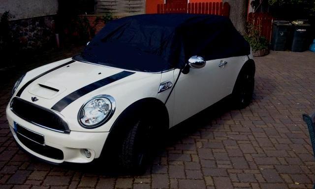 Autoabdeckung vollgarage car cover outdoor waterproof for Garage mini cooper