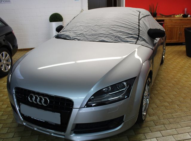 halbgarage mit spiegeltaschen f r audi tt2 cabrio. Black Bedroom Furniture Sets. Home Design Ideas