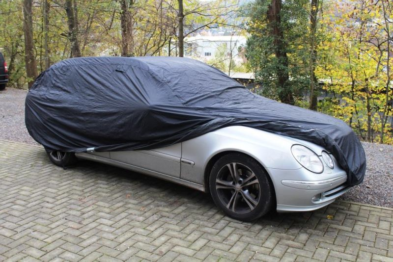 Car cover anti freeze for mercedes e klasse s211 for Mercedes benz e350 car cover
