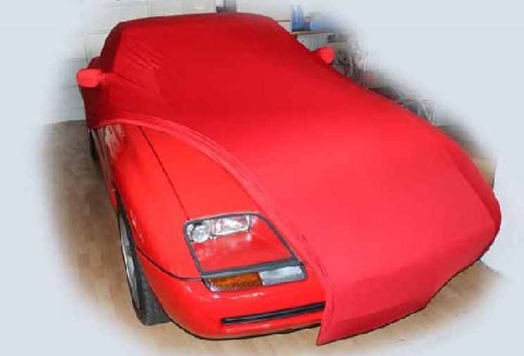 red ad cover mikrokontur with mirror pockets for bmw z1. Black Bedroom Furniture Sets. Home Design Ideas