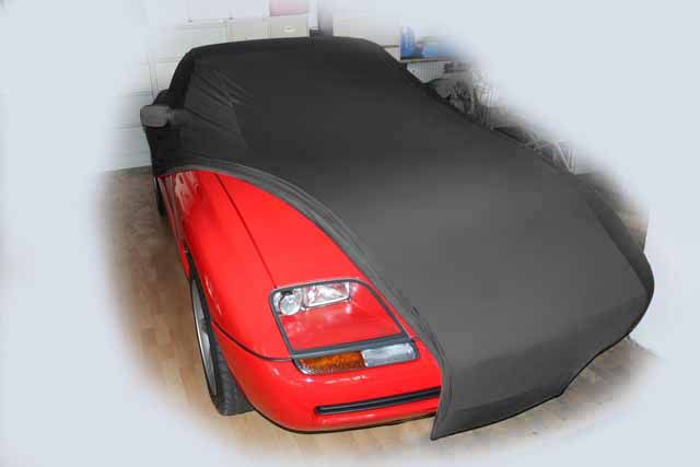 vollgarage mikrokontur schwarz mit spiegeltaschen f r bmw z1. Black Bedroom Furniture Sets. Home Design Ideas