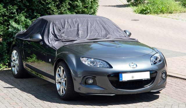 wasserdichte halbgarage f r mazda mx 5 nc. Black Bedroom Furniture Sets. Home Design Ideas