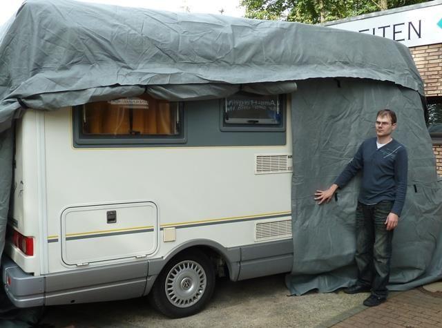 wohnmobil schutzh lle 701cm 792cm. Black Bedroom Furniture Sets. Home Design Ideas