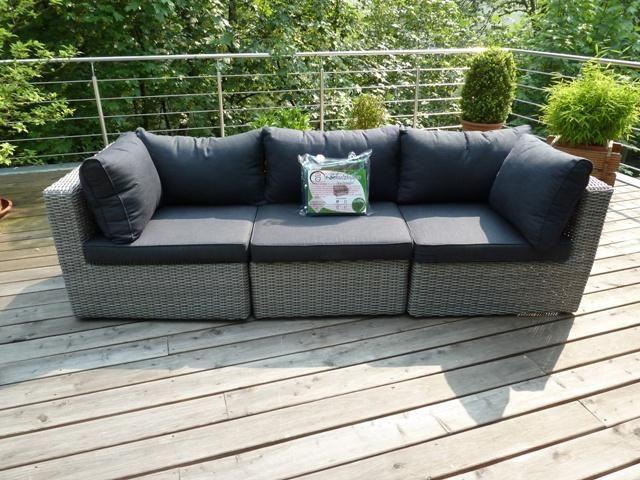 Lounge sofa rattan  Schutzhülle für großes Gartensofa / Rattan Lounge Sof