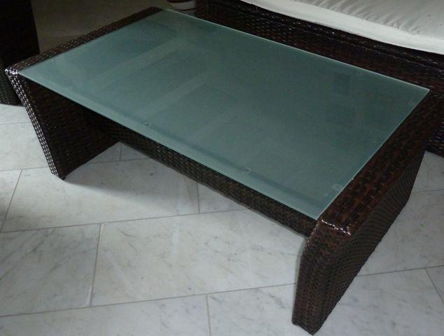 schutzh lle f r flachen gartentisch beistelltisch lounge garnitur 1. Black Bedroom Furniture Sets. Home Design Ideas