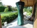 cover for heater / patio heater 100cm. diameter  x 220cm