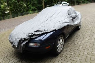 Car-Cover Outdoor Waterproof with Mirror Bags for Mazda Miata / MX 5