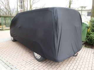 Bus Cover Satin Black - 450 x 185 x 157cm.