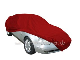 Car-Cover Satin Red für Mercedes SLK R170