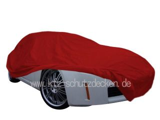 Car-Cover Satin Red für Nissan 350 Z und Roadster