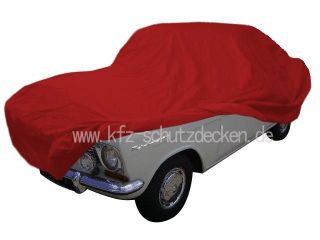 Car-Cover Satin Red für Opel Kadett A-Coupe