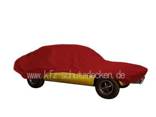 Car-Cover Satin Red für Opel Manta A