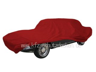 Car-Cover Satin Red für Rolls-Royce Silver Shadow