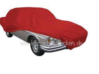 Car-Cover Satin Red für S-Klasse W108