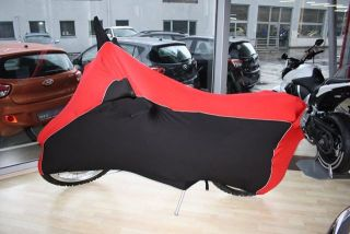 Perfect tailored motorcycle protective cover with mirror pockets for Honda CRF 250L