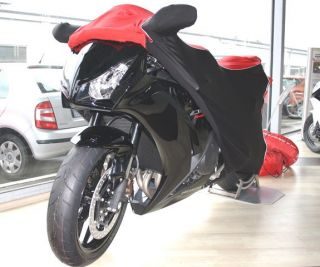 Perfect tailored motorcycle protective cover with mirror pockets for Honda Fireblade