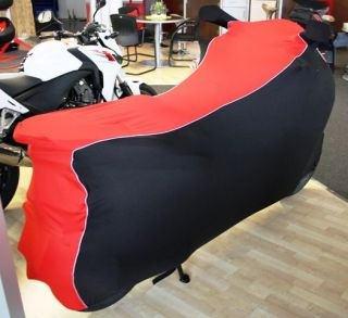 Perfect tailored motorcycle protective cover with mirror pockets for Honda NSS 300