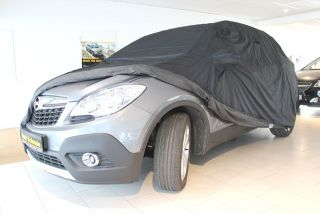 Car-Cover anti-freeze with mirror pockets for Opel Mokka