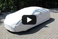 Sommer Car-Cover aus Tyvek ®