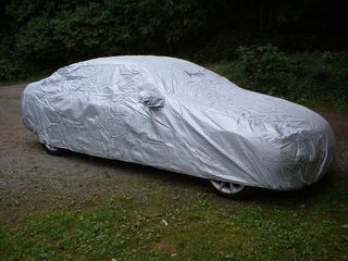 Car-Cover Outdoor Waterproof with Mirror Bags for BMW 3er...