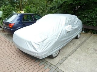 Car-Cover Outdoor Waterproof with Mirror Bags for VW Golf...