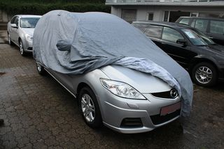 Car-Cover Outdoor Waterproof with Mirror Bags for Mazda 5