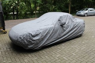 Car-Cover Outdoor Waterproof with Mirror Bags for Mazda...