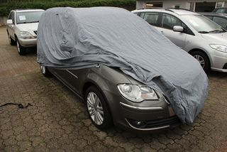 Car-Cover Outdoor Waterproof with Mirror Bags for VW Touran