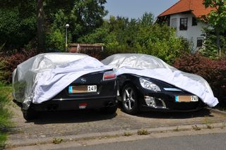 Car-Cover Outdoor Waterproof for Opel GT II