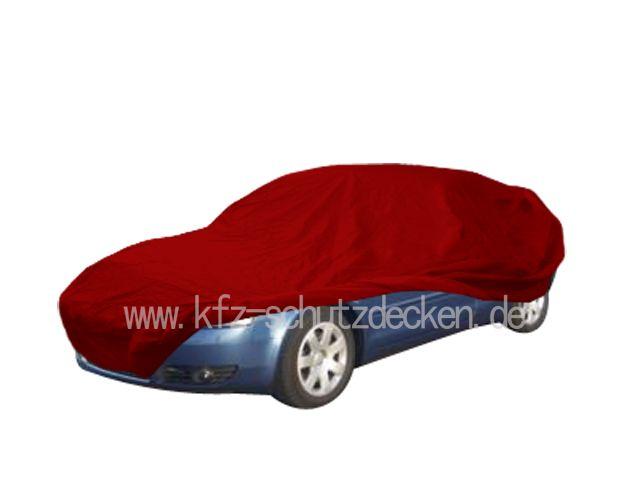 autoabdeckung vollgarage car cover samt red mit spiegeltasche f r. Black Bedroom Furniture Sets. Home Design Ideas