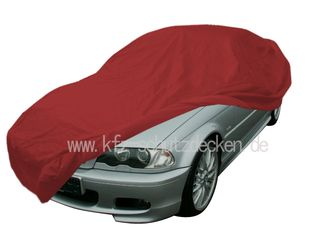 Car-Cover Samt Red with Mirror Bags for BMW 3er (E46) Bj....