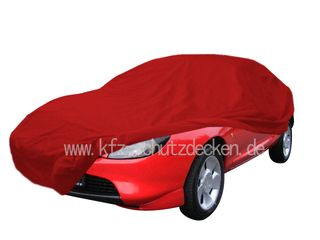 Car-Cover Samt Red with Mirror Bags for Puma