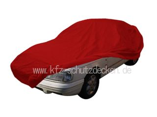 Car-Cover Samt Red with Mirror Bags for Sierra