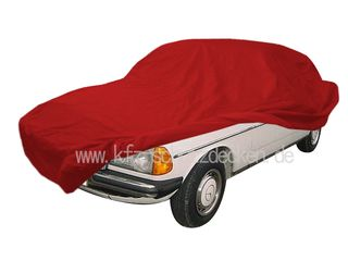 Car-Cover Samt Red with Mirror Bags for Mercedes...