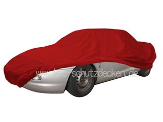 Car-Cover Samt Red with Mirror Bags for MG-F
