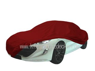 Car-Cover Satin Red  für Peugeot RCZ