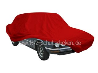 Car-Cover Satin Red für BMW 5er (E12) - bis Bj.1980