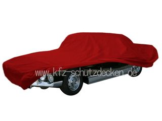 Car-Cover Satin Red für Facel Vega  HK 500