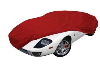 Car-Cover Satin Red für Ford GT