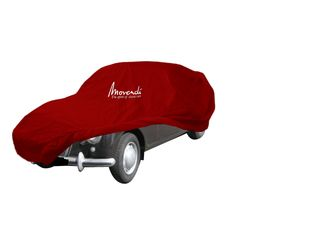 Car-Cover Satin Red für Lancia Aurelia Limousine