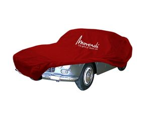 Car-Cover Satin Red für Lancia Flaminia Coupe